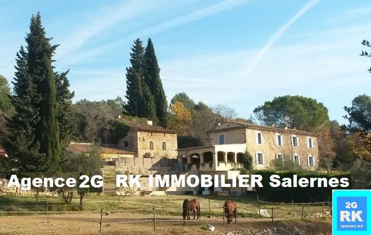 Superbe Propriété 60 000 m² avec Bastide 350 m² et dépendances.