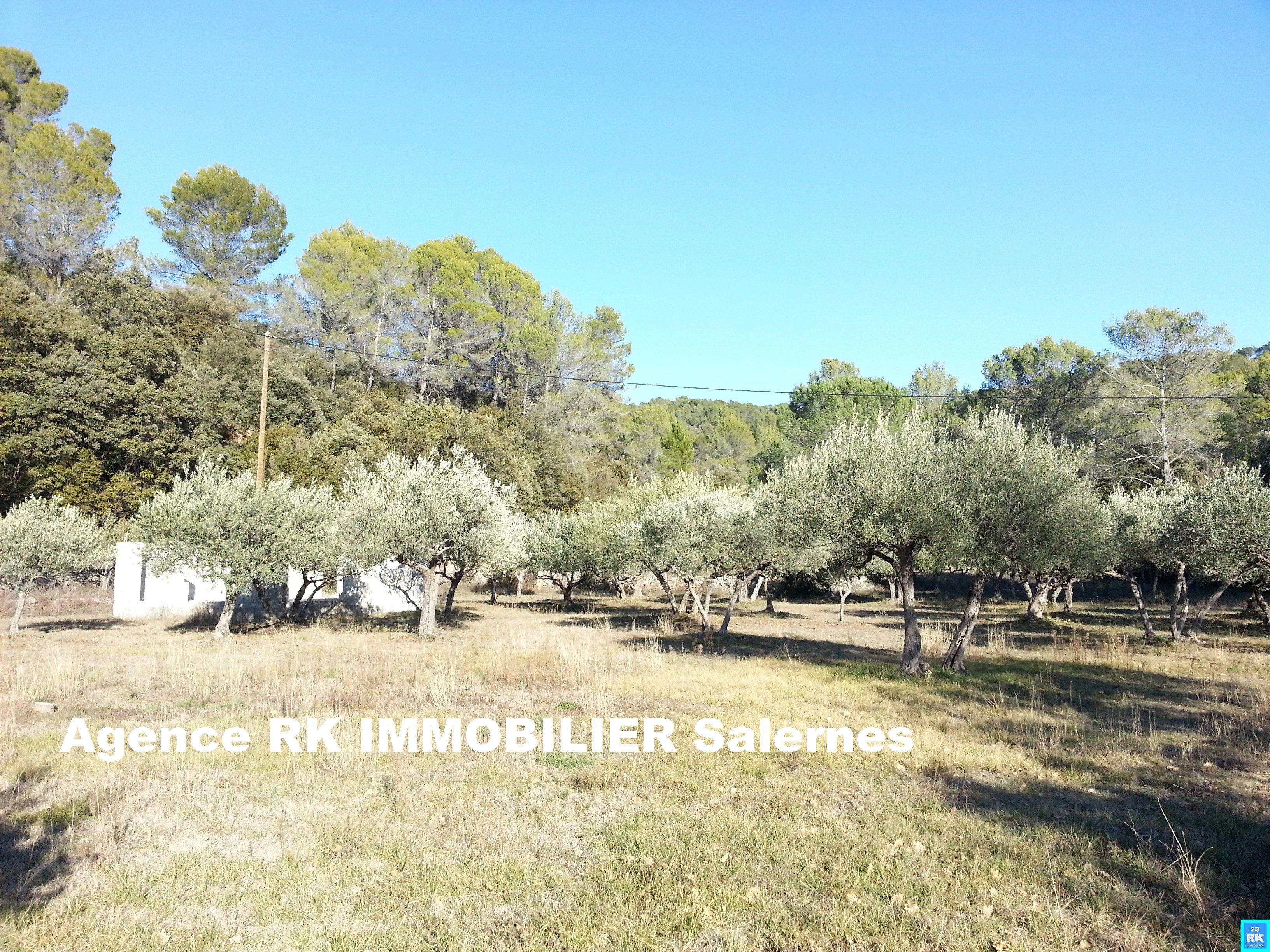 Superbe terrain à bâtir 6 000 m² Salernes