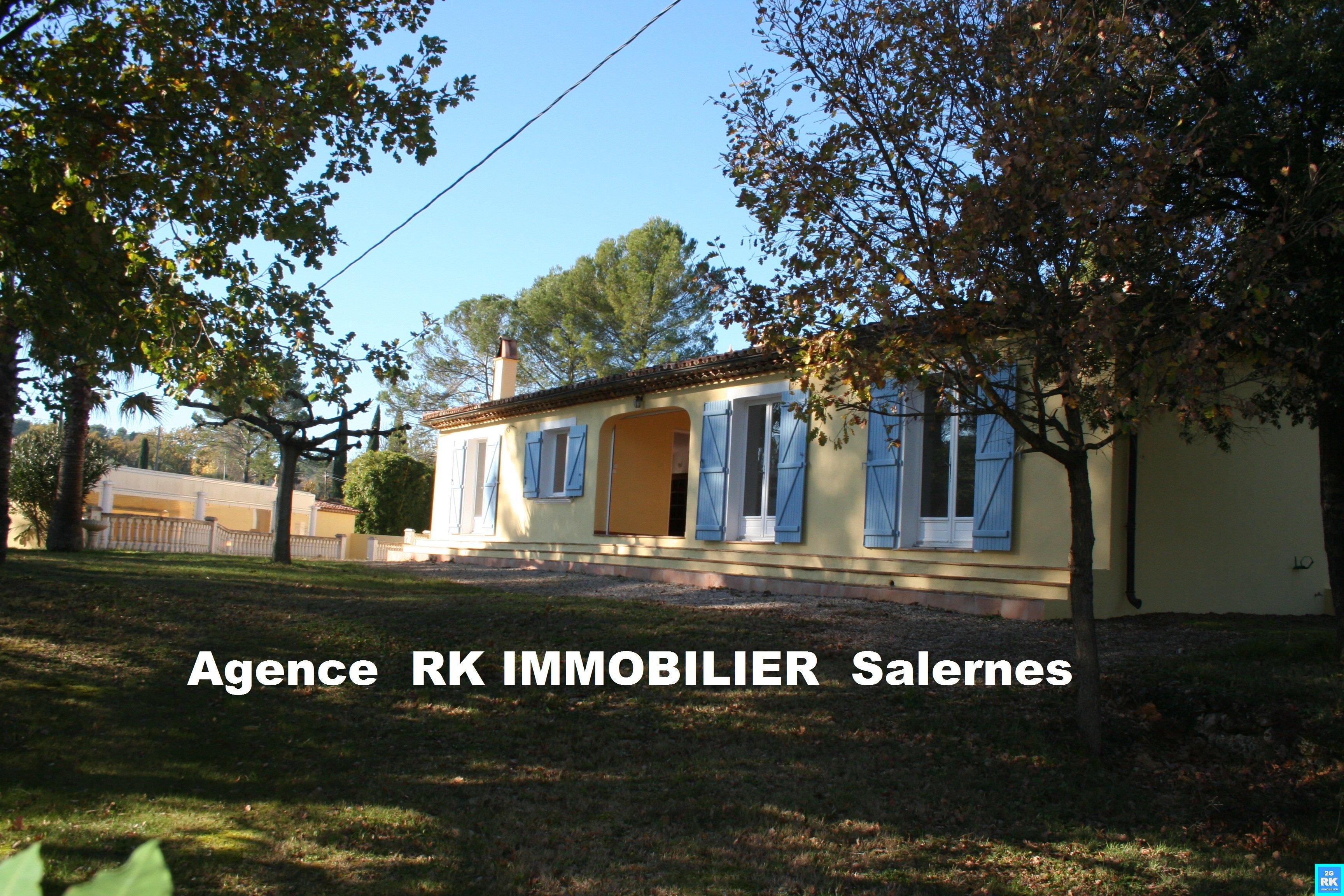 Grande villa 4 chambres + piscine Salernes