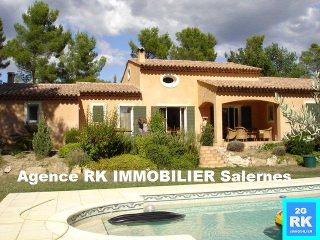 Superbe Villa d'architecte 4 chambres + piscine à Villecroze