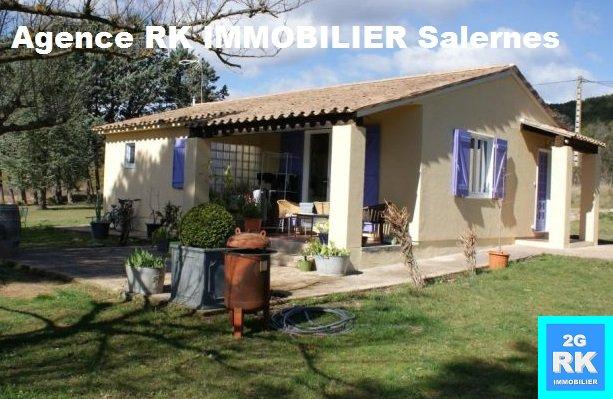 Villa Villecroze sur 3 130 m² campagne.