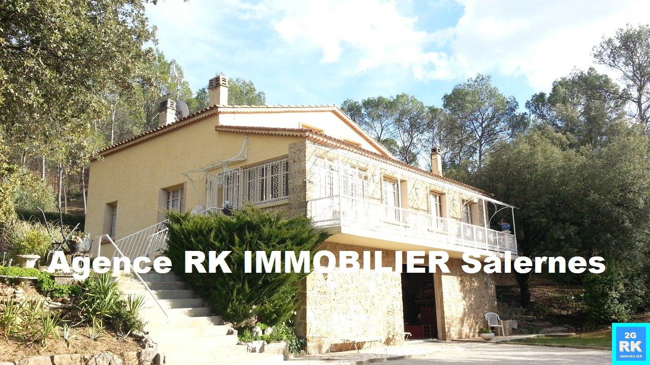 Villa 120 m² + grand sous-sol Salernes