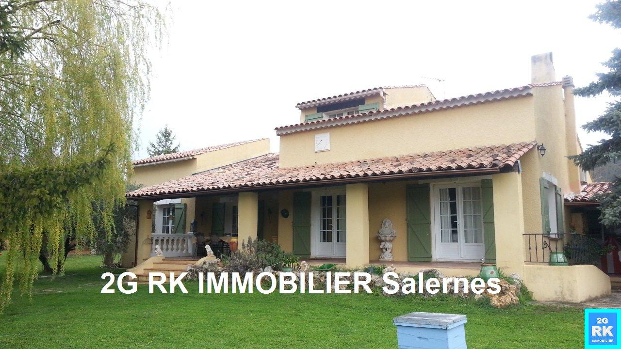 Villa 150 m² hab. 5 chambres + piscine Villecroze