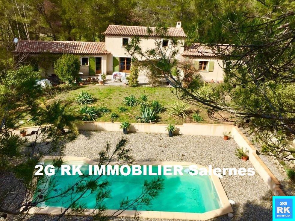 Belle Villa d'architecte 290 m², piscine, campagne sur terrain 9 100 m².