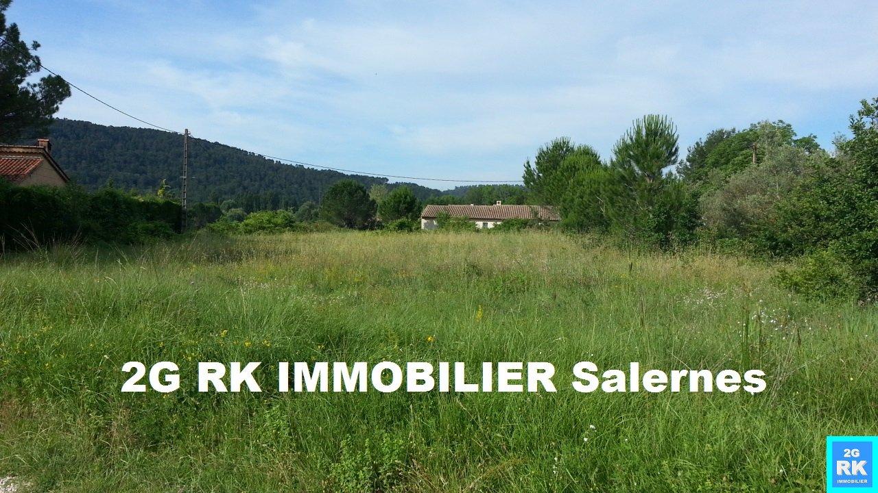 Terrain Salernes 2 100 m² plat campagne