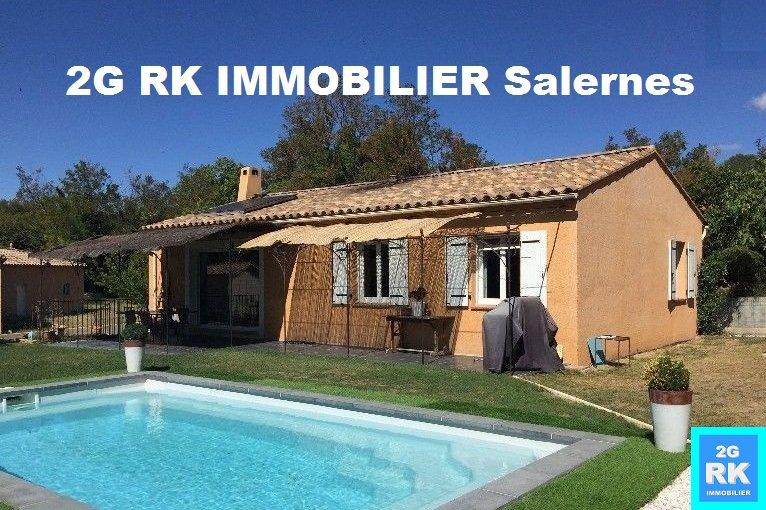 Villa récente 4 ch. + piscine + prestations.