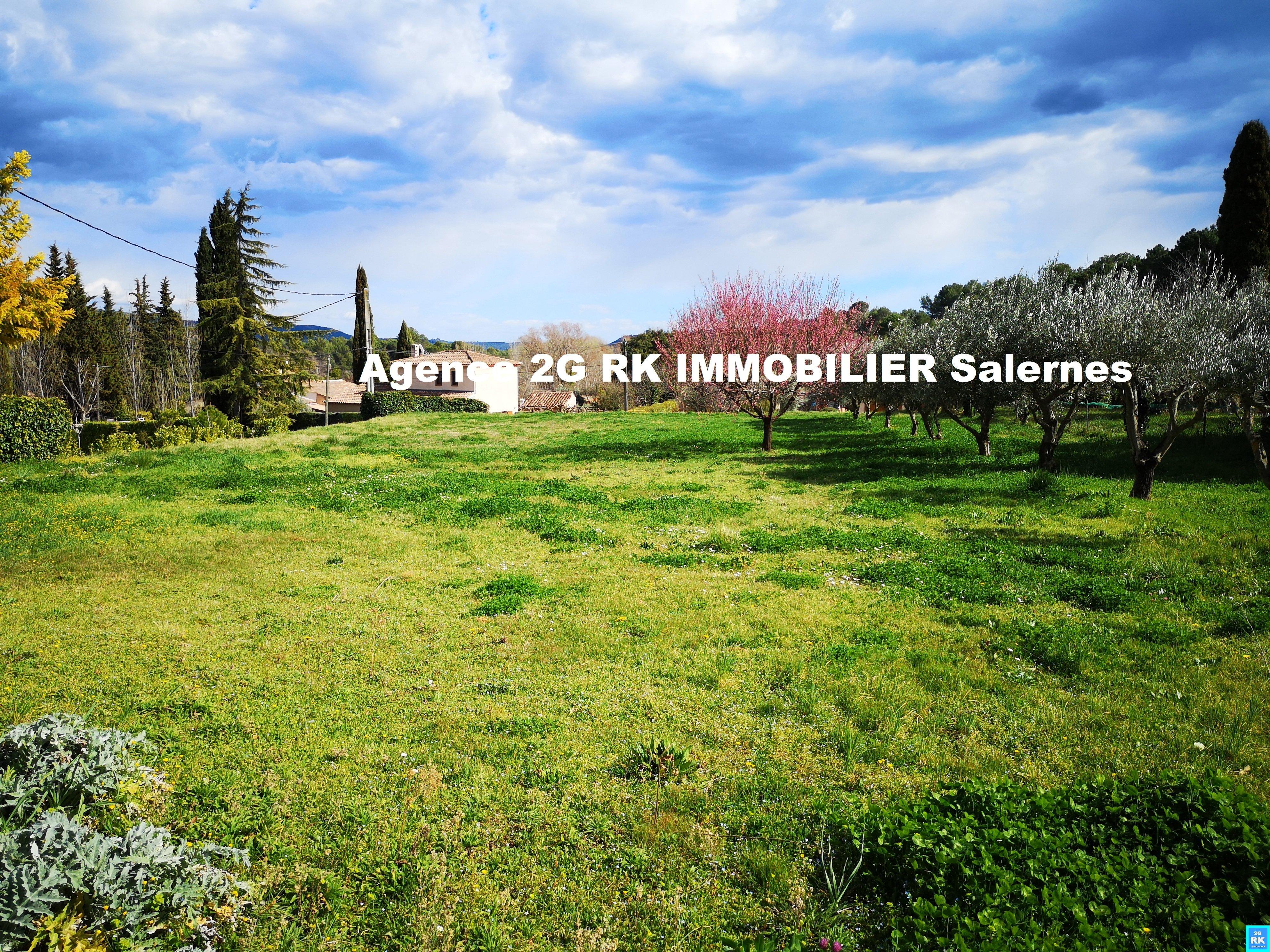 Terrain à bâtir 1 000 m² Salernes campagne.