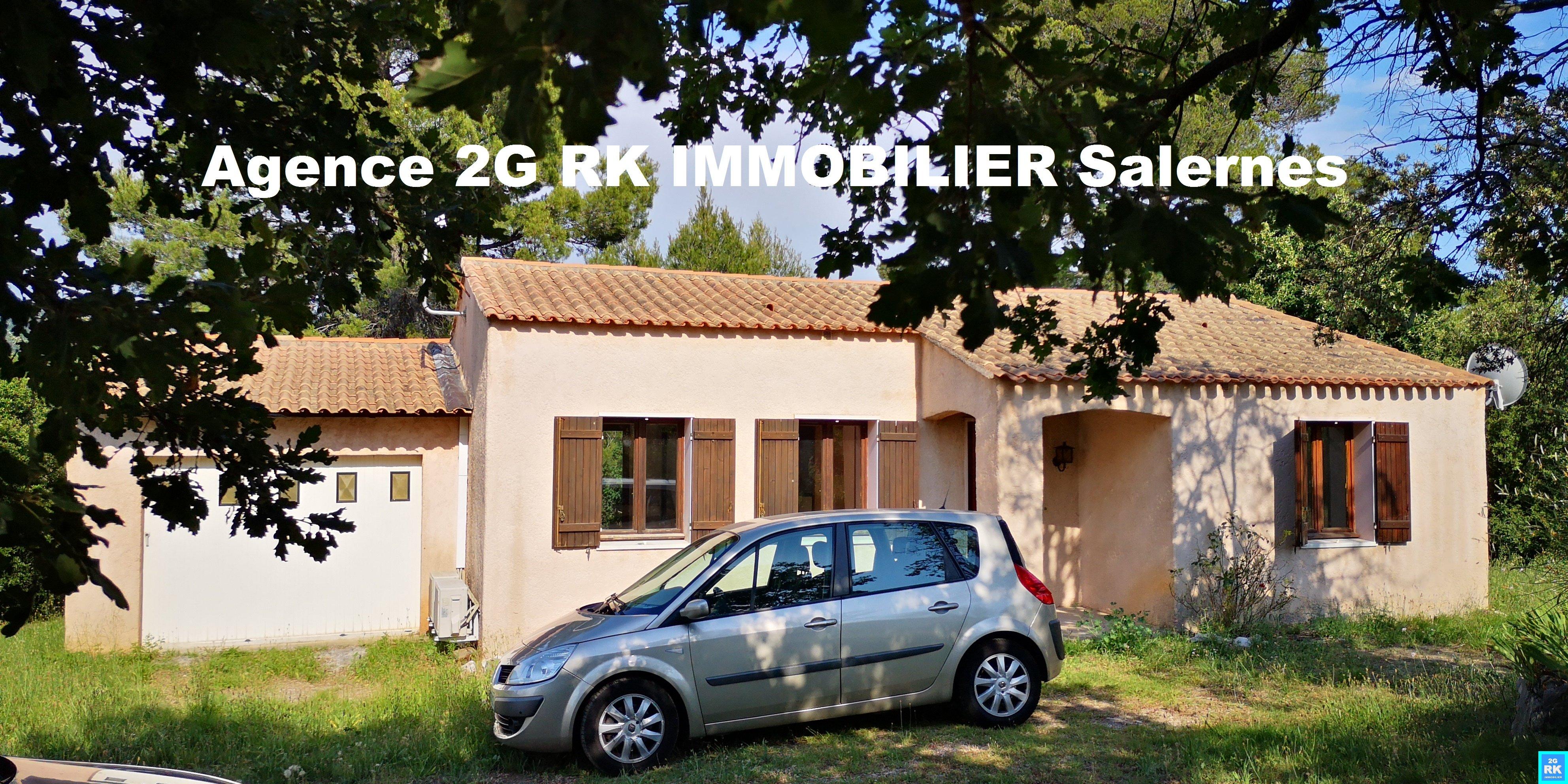Villa 80 m² plain-pied 2 Chambres avec garage campagne.