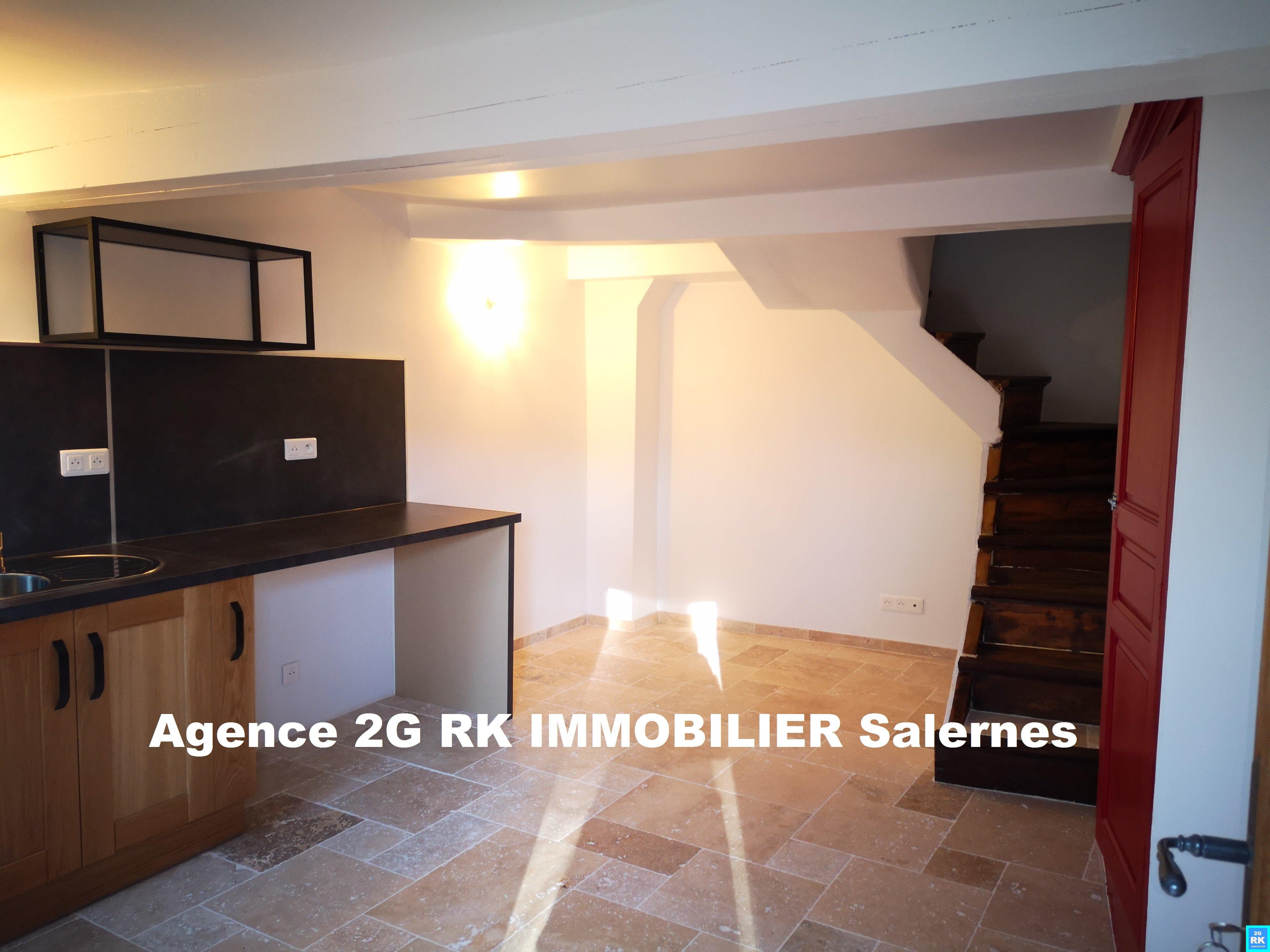 Maison de village 42 m² avec terrasse et cave.