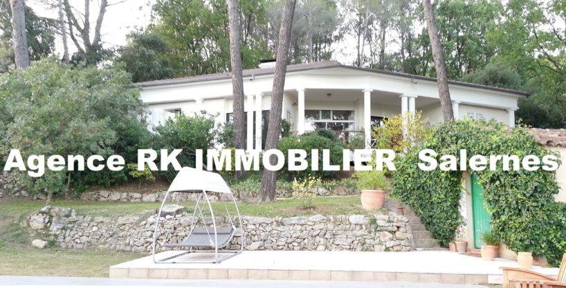 Superbe villa contemporaine d'architecte + piscine.