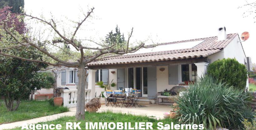 Villa 120 m² 3 chambres + bastidon