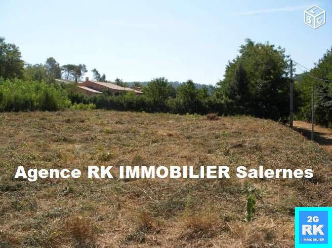 Terrain à bâtir  2000 m² Salernes au calme.
