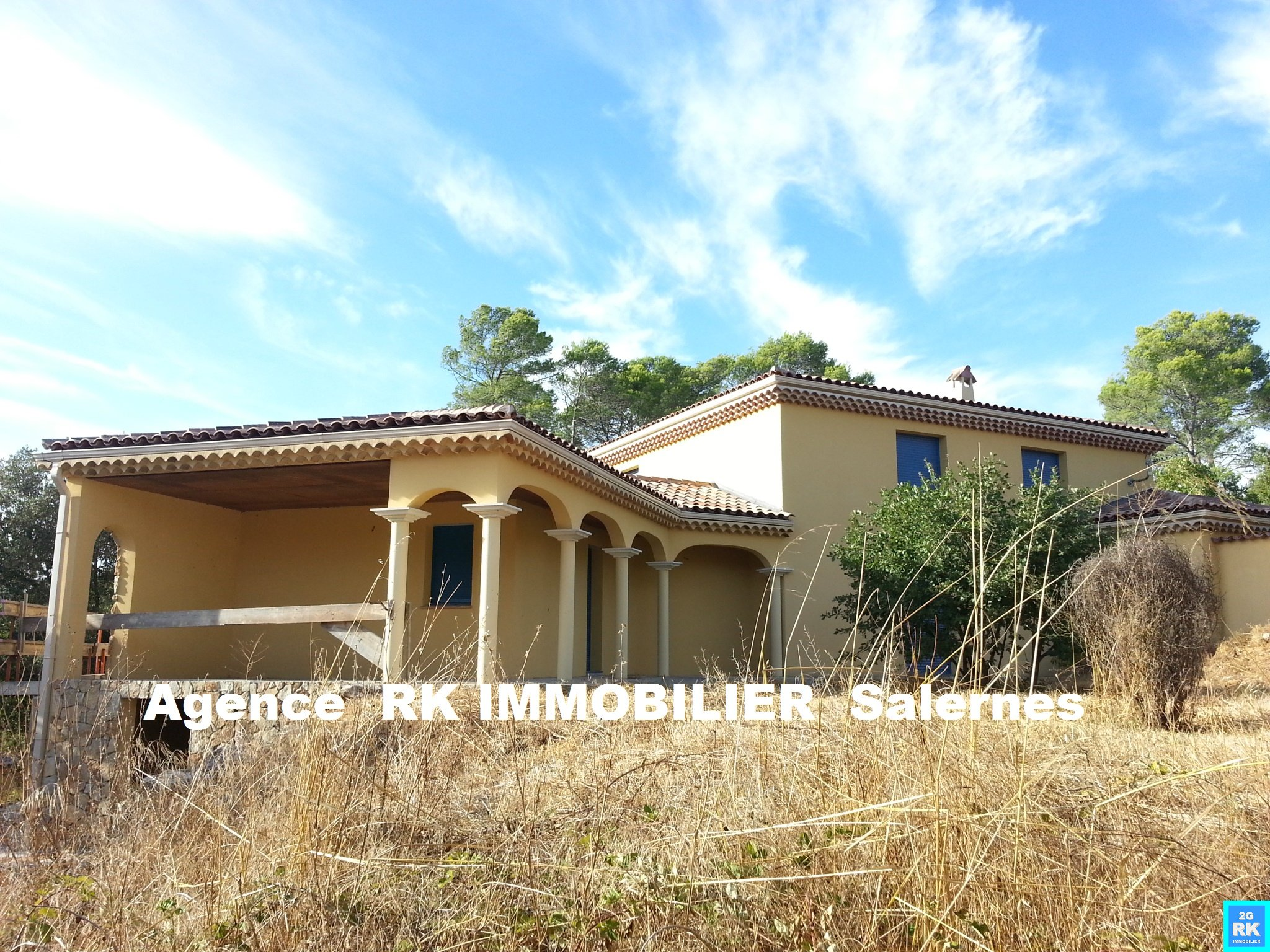 Jolie villa neuve Lorgues résidentiel.