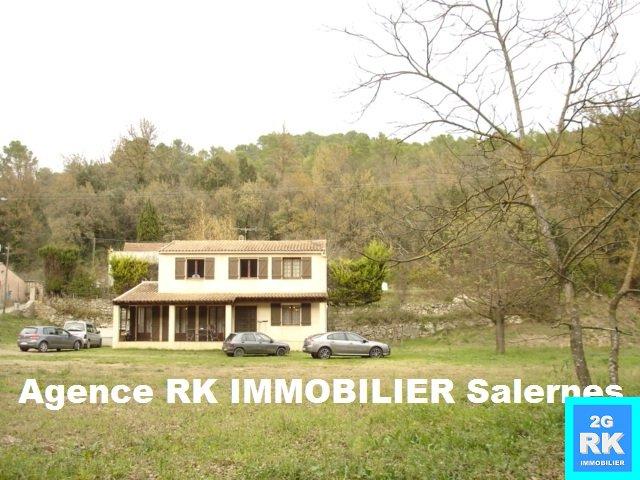 Villa 140 m² Salernes sur 3 650 m².
