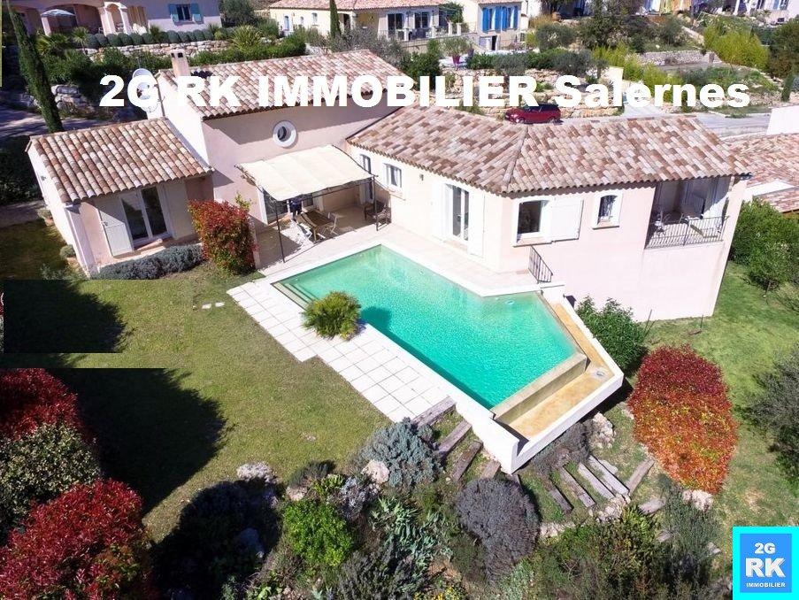 Superbe villa récente avec piscine vue panoramique.