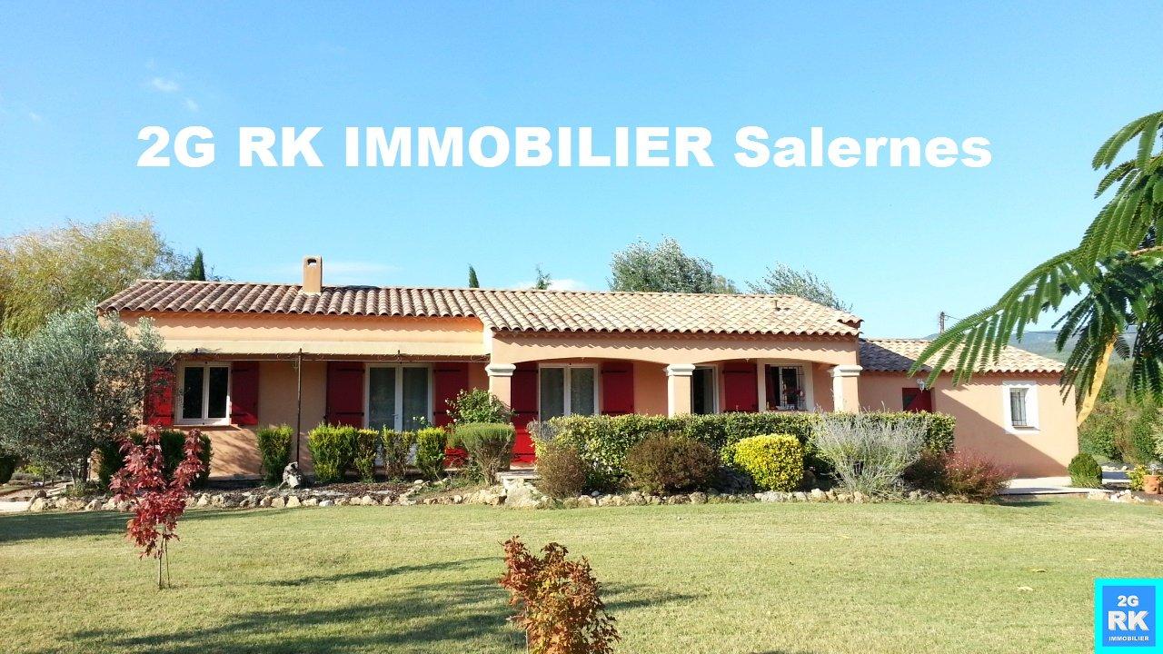 Belle villa contemporaine + garage à la campagne.