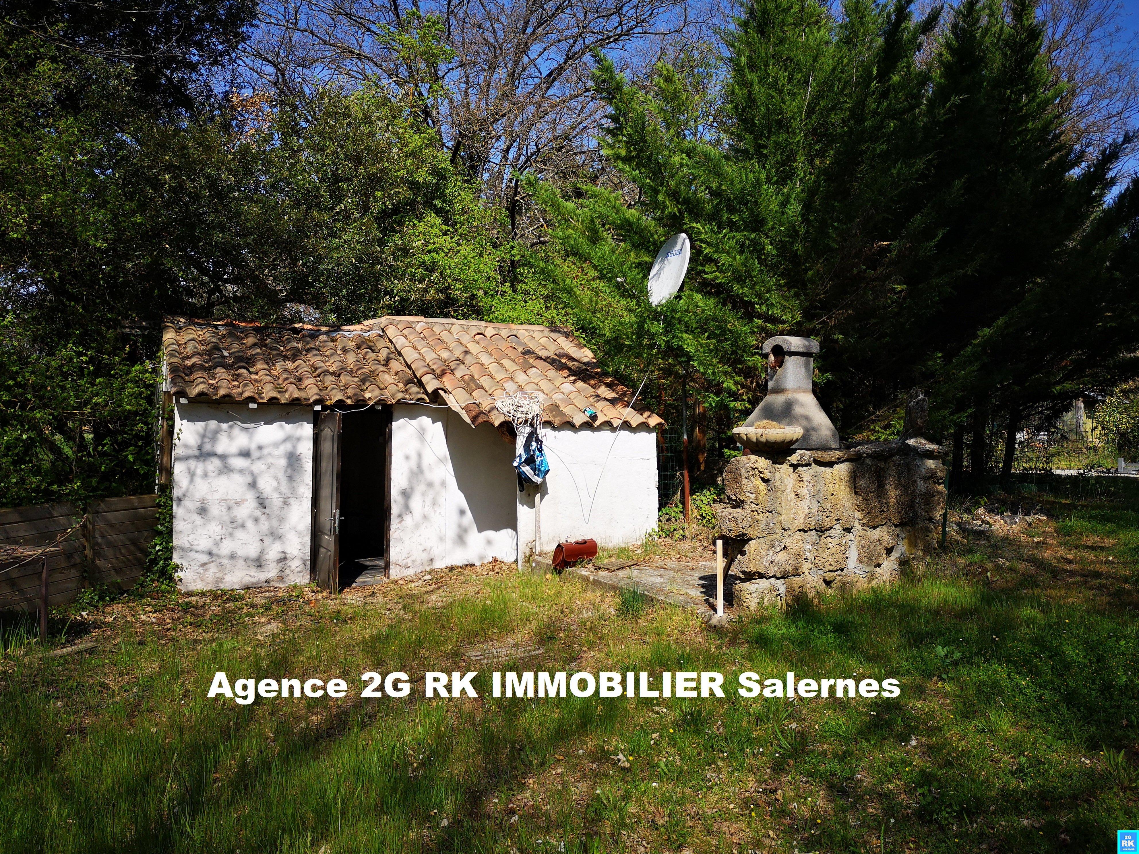 Cabanon en campagne Sillans La Cascade.