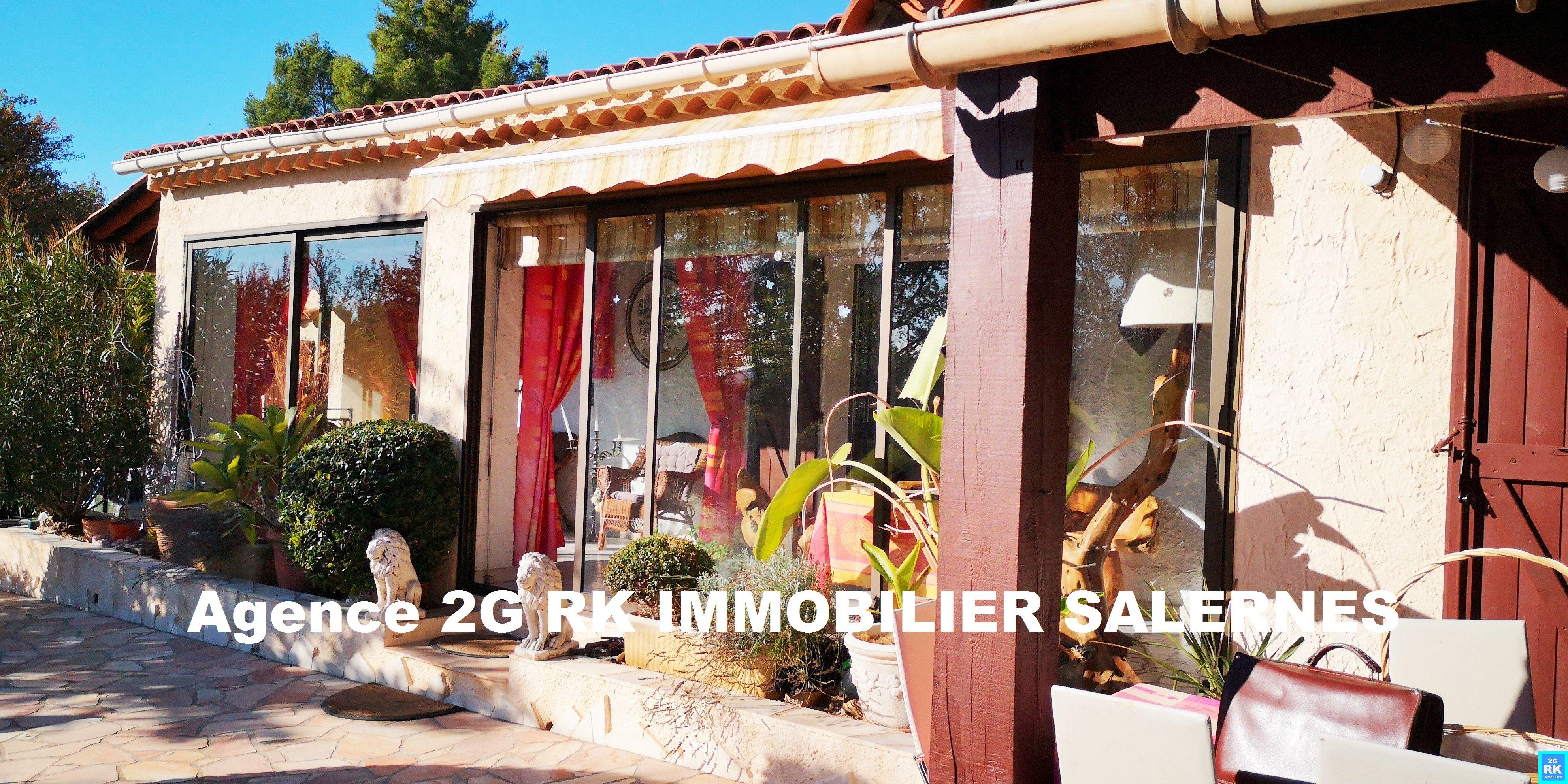 Villa 4 pièces + garage et piscine Villecroze