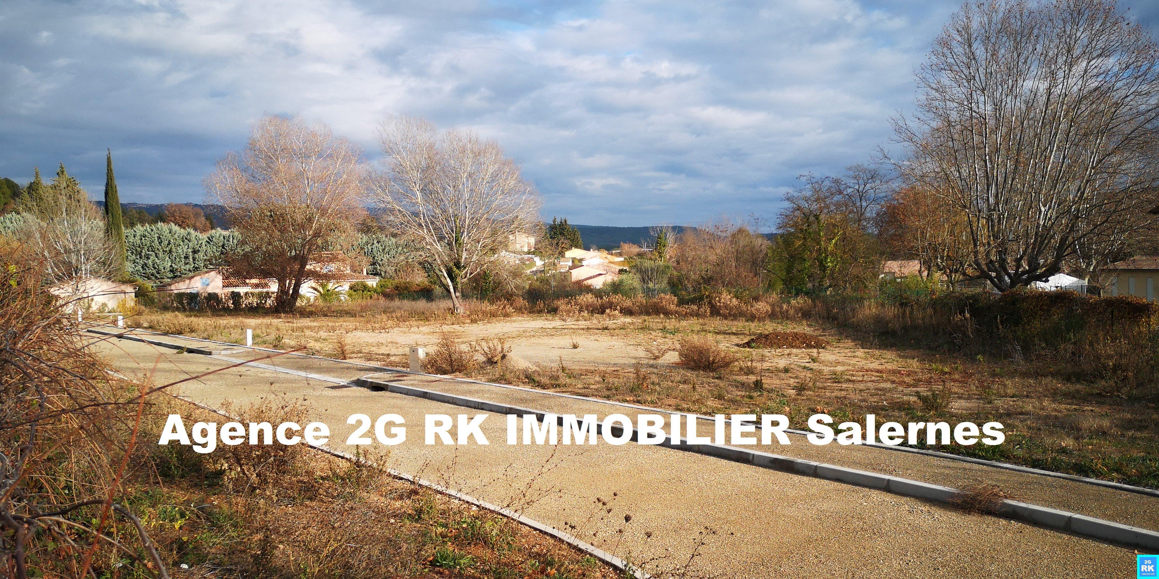 Terrains à bâtir 4 lots de 559 m² à Salernes.